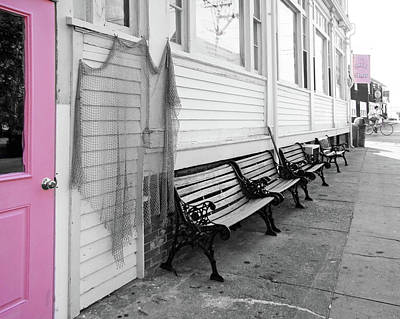 Photograph - Provincetown, Cape Cod, In Pink by Brooke T Ryan