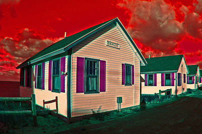 Photograph - Provincetown Cottages by Lucia Vicari