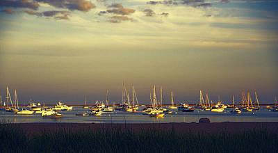 Photograph - Provincetown Harbor At Dusk by Randi Shenkman