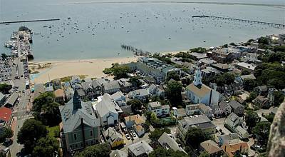 Photograph - Provincetown Harbor by Christopher James