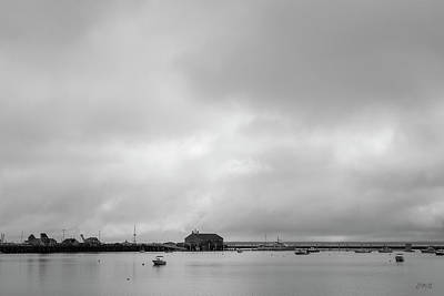 Photograph - Provincetown Harbor II Bw by David Gordon