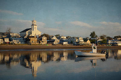 Photograph - Provincetown Morning by Betty Wiley
