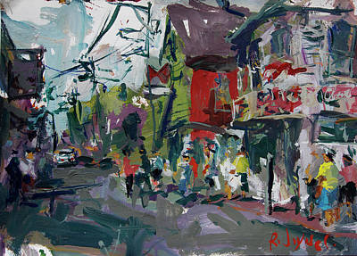 Painting - Provincetown Painting by Robert Joyner