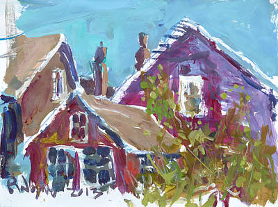 Painting - Provincetown by Robert Joyner