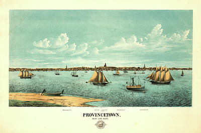 Provincetown Painting - Provincetown by Rogers