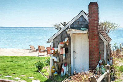 Provincetown Shed Art Print