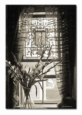Photograph - Provincetown Window by Joan  Minchak