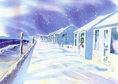 Cape Cod Painting - Provincetown Winter by Joseph Gallant