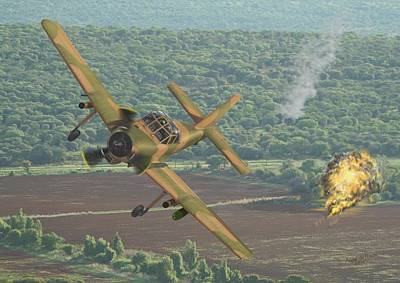 Rhodesian Digital Art - Provost Attack by Andre Du Plessis