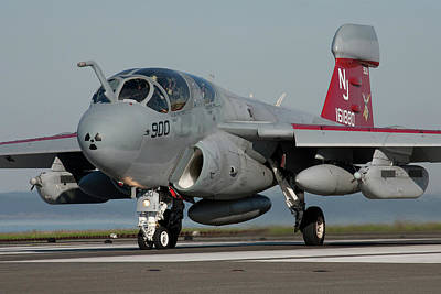 Photograph - Prowler Poised For Takeoff by John Clark