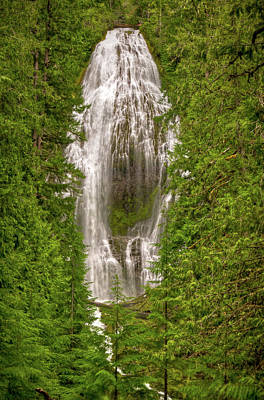 Photograph - Proxey Falls Oregon by Connie Cooper-Edwards