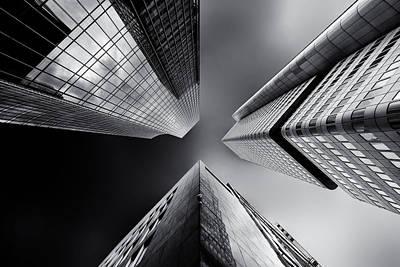 Frankfurt Photograph - Proximity by Gerard Jonkman