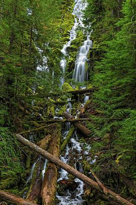 Canon 6d Photograph - Proxy Falls by Thomas Hall