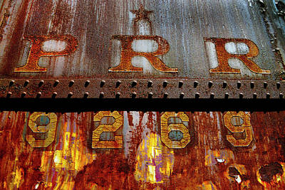 Photograph - Prr Engine 9269 by Paul W Faust - Impressions of Light