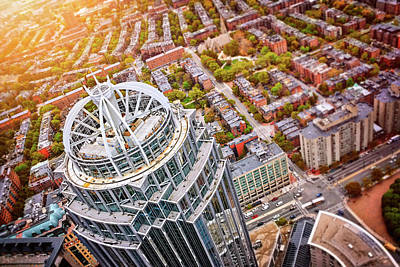 Photograph - Prudential Center City Of Boston  by Carol Japp