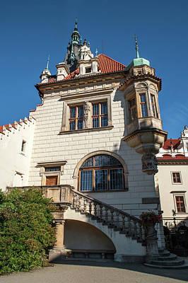Photograph - Pruhonice Castle Side View by Jenny Rainbow