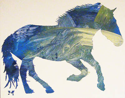Painting - Przewalksi by Candace Shrope