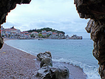 Photograph - Przno Beach - Montenegro by Phil Banks