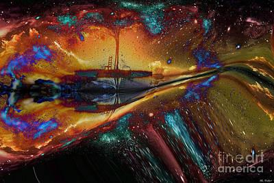 Digital Art - Ps14 by ML Walker
