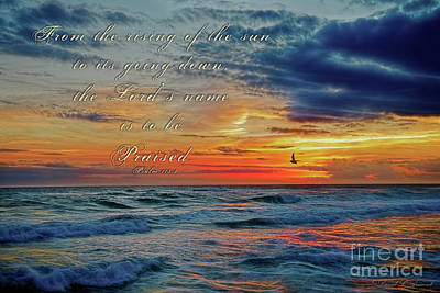 Photograph - Psalm 113 by David Arment