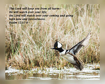 Psalm 121 7-8 Art Print