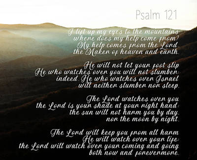 Photograph - Psalm 121 by Andrea Anderegg
