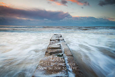 Photograph - Psalm 25 4 by Will Gudgeon