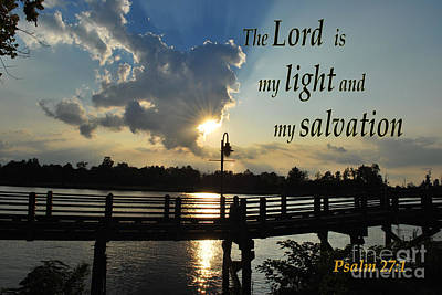 Photograph - Psalm 27 by Bob Sample