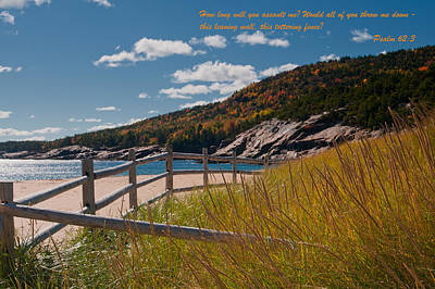 Photograph - Psalm 62-3 by Paul Mangold