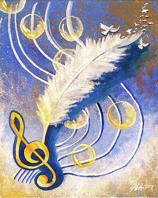 Painting - Psalmist by Jennifer Page