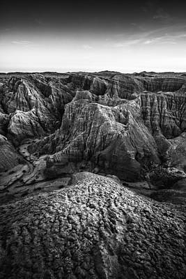 Photograph - Pseudokarst Badlands by Alexander Kunz