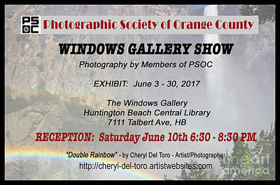 Photograph - Psoc 2017 Windows Gallery Show by Cheryl Del Toro