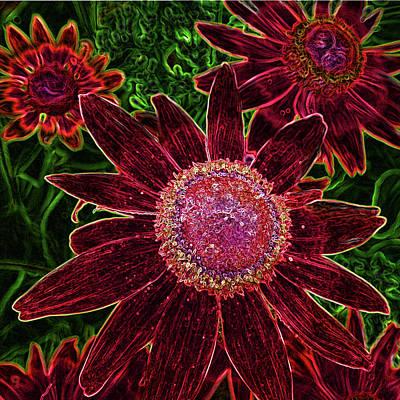 Digital Art - Psyched Susie by Leslie Montgomery