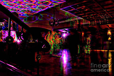 Photograph - Psychedelic Dancing by Al Bourassa
