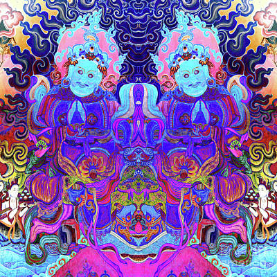 Photograph - Psychedelic by Derek Selander