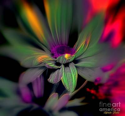 Photograph - Psychedelic by Elfriede Fulda