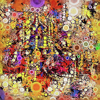 Digital Art - Psychedelic Fizzzz... by Mike Butler