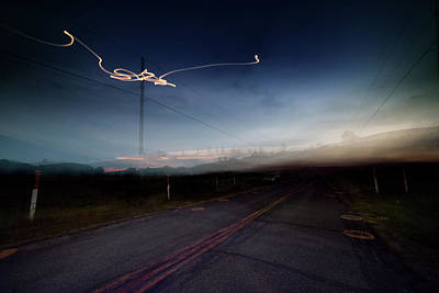 Photograph - Psychedelic Highway by Geoffrey Coelho