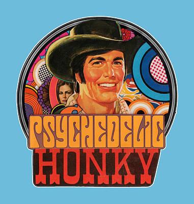 Painting - Psychedelic Honky by Rob Yamabushi