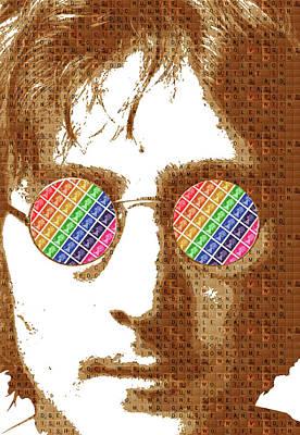 Psychedelic Lennon #1 Original