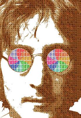Psychedelic Lennon #2 Original