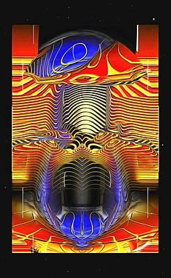 Digital Art - Psychedelic Mushroom by Mario Carini