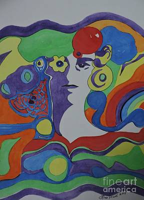 Psychedelic Sixties Original by Lise PICHE