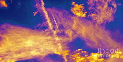 Photograph - Psychedelic Skys by Paul W Faust - Impressions of Light