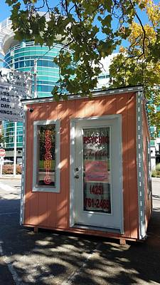 Photograph - Psychic In Seattle by Mary Capriole