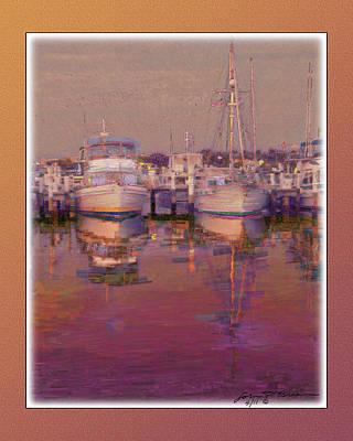 Psychogenic Harbor3 Art Print