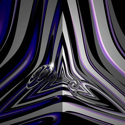 Digital Art - Psychothes by Andrew Kotlinski