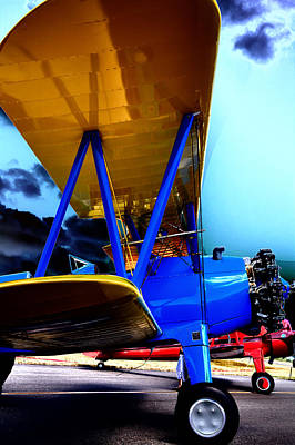 Photograph - Pt-18 Kadet - 1940 Stearman by David Patterson