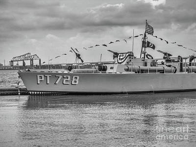Photograph - Pt 728 Torpedo Boat by Dale Powell