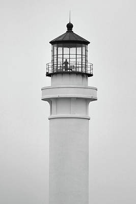 Photograph - Pt Arena Lighthouse by Jeff Brunton